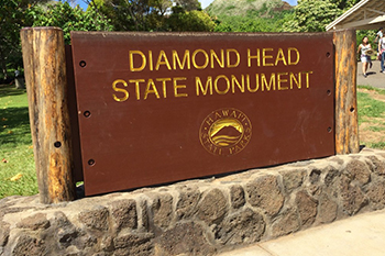 Diamon Head sign